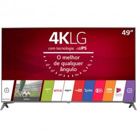 """Smart TV LCD 49"""" LG 49UJ6565 - Ultra HD 4K - HDMI - USB - Wi-fi - WebOS 3.5 - Conversor Digital"""