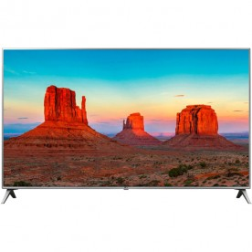 "Smart TV LED 50"" LG 50UK6520PSA - Ultra HD 4K - HDMI - USB - Wi-Fi - ThinQ AI - Conversor Digitlal"