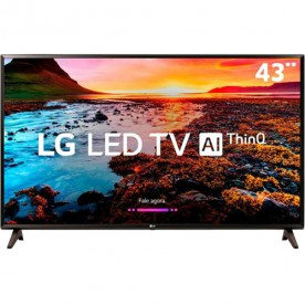 "Smart TV LED 43"" LG 43LK5750PSA - Full HD - HDR Ativo - HDMI - USB - Wi-Fi - ThinQ AI - Conversor Digital"