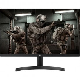 "Monitor Gamer LED LG 24ML600M - Tela 23.8"" - Full HD - IPS - 75Hz - 1ms - FreeSync - HDMI/VGA"