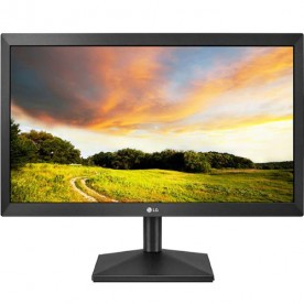 "Monitor LED LG 20MK400H - Tela 19.5"" - TN - HD - 2ms - HDMI/VGA"