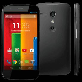 "Smartphone Motorola Moto G XT1036 Preto - 8GB - 3G - 5MP - Tela 4.5"" - Android 4.3"