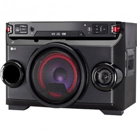 Mini System LG OM4560 XBoom Festa - Bluetooth - USB - CD - MP3 - Karaokê - 200 Watts