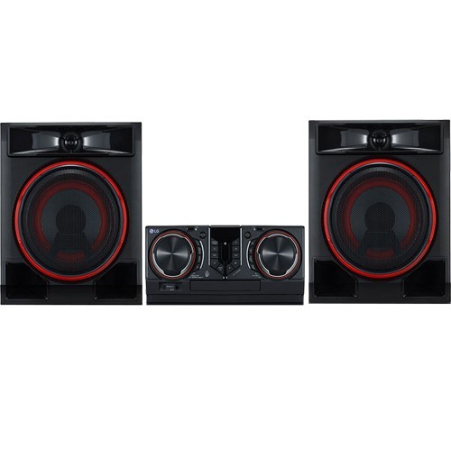 Mini System LG CL65 XBoom - Preto - Bluetooth - USB - CD - MP3 - 950W