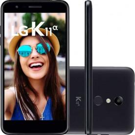"Smartphone LG K11A - Preto - 16GB - RAM 2GB - Octa Core - 4G - 8MP - 5MP - Tela 5.3"" - Android 7.0"