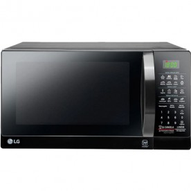 Forno Micro-ondas LG EasyClean MS3097AR - Preto - 30 Litros - 127V
