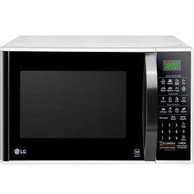 Forno Micro-Ondas LG Solo MS3091BC - Branco - 30 Litros - EasyClean - 127V