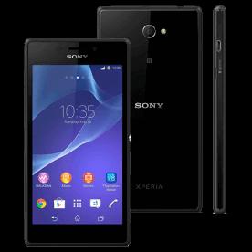 """Smartphone Sony Xperia M2 D2303 Preto - 8GB - 3G - 8MP - Tela 4.8"""" - Android 4.3"""