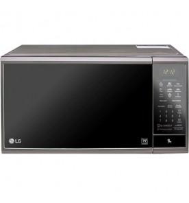 Forno Micro-Ondas LG EasyClean MS3095LRA - Prata - 30 Litros - 220V