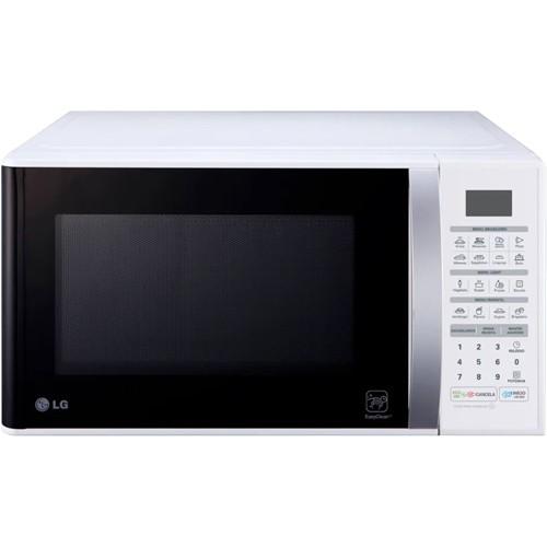 Forno Micro-Ondas LG EasyClean MS3052RA - Branco - 30 Litros - 220V