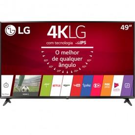 """Smart TV LED LG 49"""" 49UJ6300 - Ultra HD 4K - HDMI - USB - Wi-Fi - ThinQ AI - Conversor Digital"""