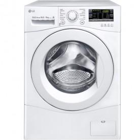 Máquina Lava e Seca LG Prime Direct WD10WP6 - Branco - 10.5Kg/6Kg - 14 Programas - 127V