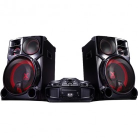 Mini System LG XBoom Pro CM9960 - Bluetooth - USB - Função DJ - CD - MP3 - 4100W