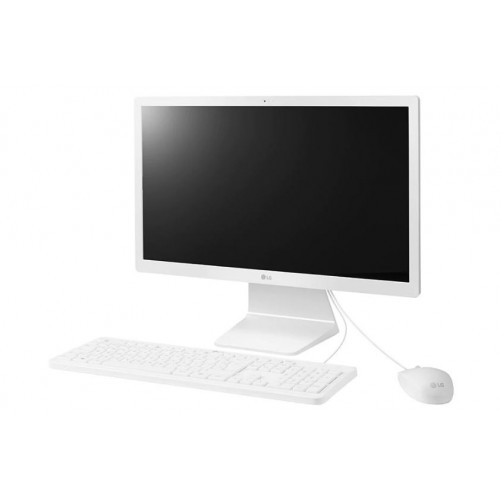 "Computador All In One LG 24V570-C - Branco - Intel Core i3-7100U - RAM 4GB - HD 1TB - Tela 24"" - Windows 10"