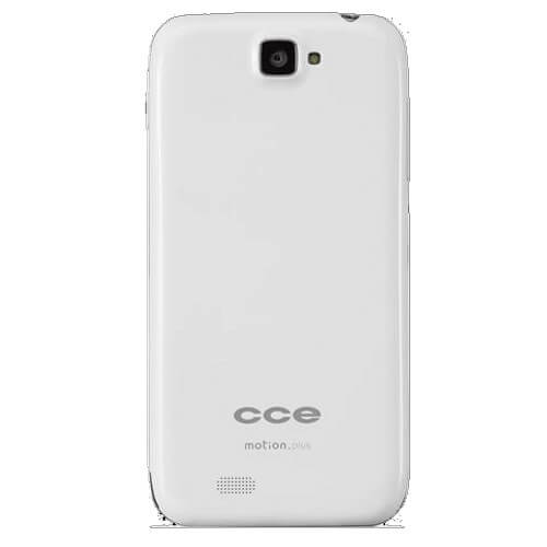 "Smartphone CCE Motion Plus SK504BR - 3G - Dual Chip - Tela de 5"" - Quad Core - 8MP - Android 4.1 - Branco"