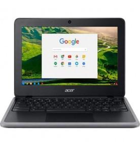 """Chromebook Acer C731T-C2GT - Preto - Intel Celeron N3060 - RAM 4GB - HD 32GB - Tela 11.6"""" - Chrome OS"""