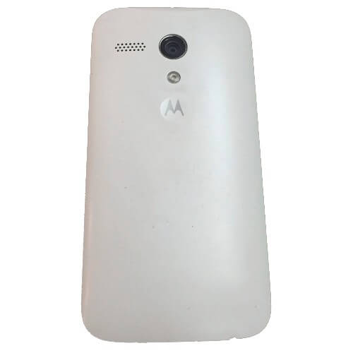 "Smartphone Motorola XT1033 Moto G Dual Chip Branco - 3G - Wi-Fi - 16GB - Tela de 4.5"" - 5MP - Android 4.3"
