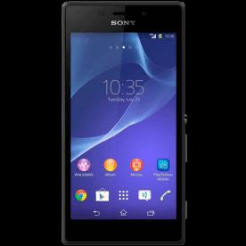"Smartphone Sony Xperia M2 D2305 3G Preto - 8GB - 3G - 8MP - Tela 4.8"" - Android 4.3"