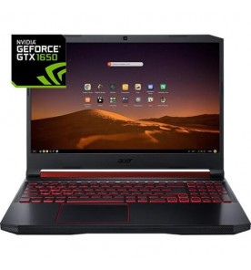 "Notebook Gamer Acer Nitro 5 AN517-51-55NT - Intel Core i5-9300H - GTX 1650 - RAM 8GB - SSD 128GB - Tela 17.3"" - Endless OS"