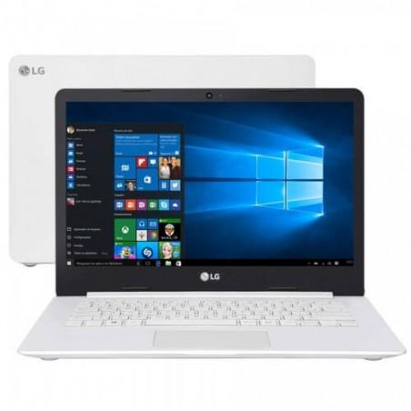 "Notebook LG 14U380-L.BJ36P1 - Branco - Intel Celeron N4100 - RAM 4GB - HD 500GB - Tela 14"" - Windows 10"