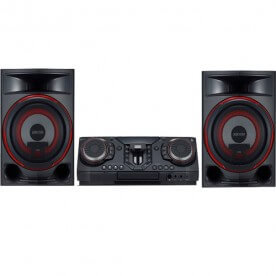 Mini System LG XBoom CL87 - Preto - Bluetooth - USB - 2350W - Bivolt