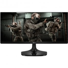 "Monitor Gamer Ultrawide LG 25UM58G-P - Tela 25"" - IPS - 75Hz - 1ms - FreeSync - HDMI"