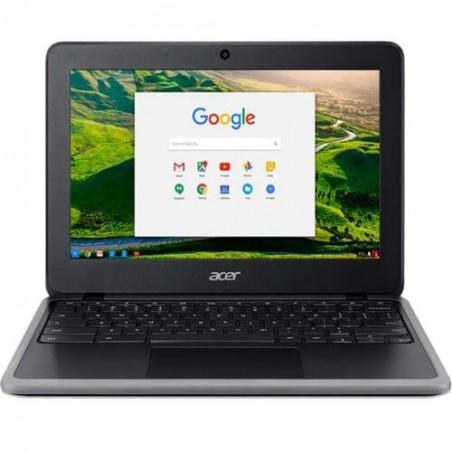 """Chromebook Acer C733-C607 - Preto - Intel Celeron 4020 - RAM 8GB - HD 32GB - Tela 11.6"""" - Chrome OS"""