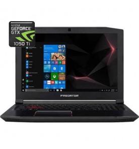 "Notebook Gamer Acer Predator Helios PH315-51-77RK - Core i7-8750H - GTX 1050Ti - RAM 16GB - SSD 128GB - Tela 15.6"" - Windows 10"