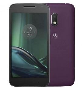 "Smartphone Motorola Moto G4 Play - Roxo - 16GB - RAM 2GB - Quad Core - 4G - 8MP - Tela 5"" - Android 7"