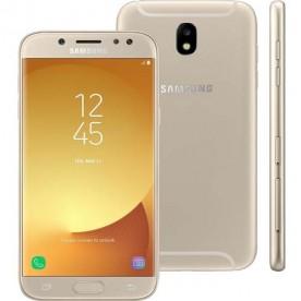 "Smartphone Samsung Galaxy J7 Pro - Dourado - 64GB - RAM 3GB - Octa Core - 4G - 13MP - Tela 5.5"" - Android 9"