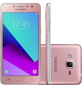 "Smartphone Samsung Galaxy J2 Prime - Rosa - 16GB - RAM 1GB - Quad Core - 4G - 8MP - Tela 5"" - Android 6"