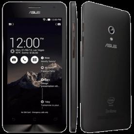 "Smartphone ZenFone 5 ASUS Preto - 16GB - Intel 1.6 GHz - A501CG-2A454BRA - Dual SIM - Câmera 8MP - Tela 5"" - Android 4.3"