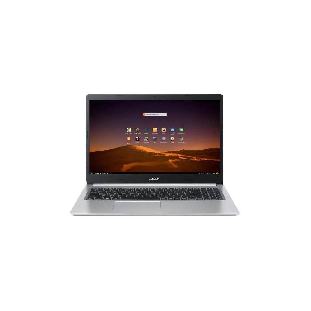 """Notebook Acer Aspire 5 A515-54G-73Y1 - Prata - Intel Core i7-10510U - MX250 - RAM 8GB - SSD 512GB - Tela 15.6"""" - Endless OS"""