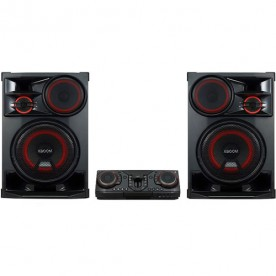 Mini System LG XBoom CL98 - Preto - Bluetooth - Karaokê - USB - CD - 3500W