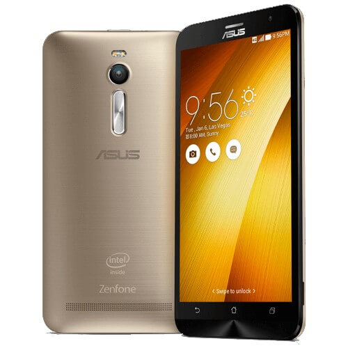 "Smartphone ZenFone 2 Asus ZE551ML-6G543WW Dourado - Dual SIM - 16GB - 4G - RAM 4GB - Tela 5.5"" - 13MP - Android 5"