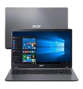 "Notebook Acer Aspire 3 A315-56-330J - Cinza - Intel Core i3-1005G1 - RAM 4GB - SSD 256GB - Tela 15.6"" - Windows 10"