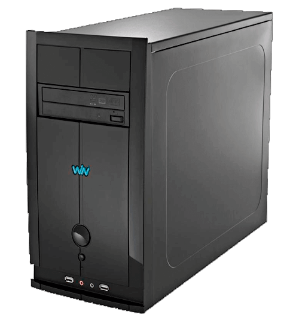 Computador Desktop CCE T240S3D - RAM 2GB - HD 400GB - Intel Atom D2500 - Gravador de DVD - Windows 7 Starter