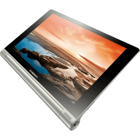 "Tablet Yoga Lenovo B8000-F - Tela HD de 10.1"" - Quad Core - 16GB - Câmera de 5MP - Micro USB - Wi-Fi - Android 4.2"