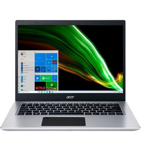 "Notebook Acer Aspire 5 A514-53-32LB - Prata - Intel Core i3-1005G1 - RAM 4GB - SSD 128GB - Tela 14"" - Windows 10"