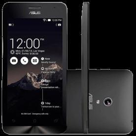 """Smartphone ZenFone 6 Asus A601CG-2A064BR - Intel Atom Z2560 1.6 GHz - Dual SIM - RAM 2 GB - HD 16 GB - Tela 6"""" - Android 4.4"""