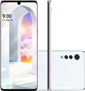 "Smartphone LG Velvet - Branco - 128GB - RAM 6GB - Octa Core - 4G - Câmera Tripla - Tela 6.8"" - Android 10"