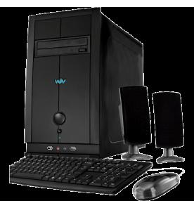 Computador Desktop CCE T240S - RAM 2GB - HD 500GB- Intel Atom D2500 - Gravador de DVD - Windows 7 Starter