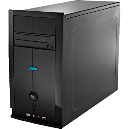 Computador Desktop CCE T240S - RAM 2GB - HD 400GB -  Intel Atom D2500 - Gravador de DVD - Windows 7 Starter