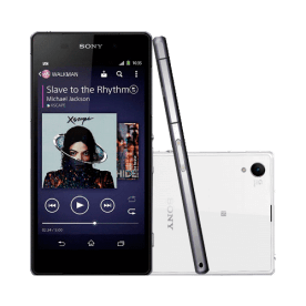 "Smartphone Sony Xperia Z2 D6543 Branco - 4G LTE - 16GB - RAM 3GB - HD 5.2"" - 20.7MP - TV Digital - Android 4.4"