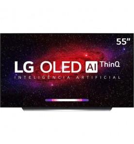 "Smart LG OLED 55"" OLED55CXPSA - Ultra HD 4K - HDR - HDMI - USB - Wi-Fi - Inteligência Artificial - ThinQ AI - Smart Magic"