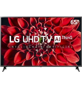 "Smart TV LED LG 65"" 65UN7100PSA - Ultra 4K HD - HDR - HDMI - USB - Wi-Fi - Inteligência Artificial ThinQ AI - Conversor Digital"