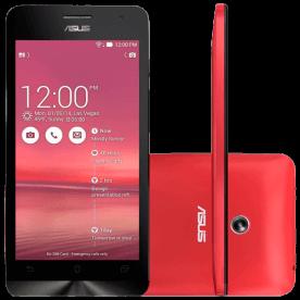 "Smartphone ZenFone 5 ASUS - Vermelho - 16GB - Intel 1.6 GHz - A501CG-2C456BRA - Dual Chip - Tela 5"" - Android 4.3"