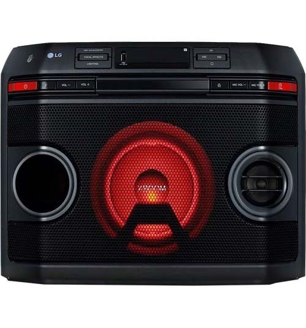 Mini System LG XBoom OL45 - Preto - Bluetooth - Karaokê - USB - CD - 220W