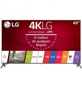 "Smart TV LG LED 49"" 49UJ7500 - Ultra HD 4K - HDMI - USB - Wi-Fi - WebOS 3.5 - Conversor Digital"