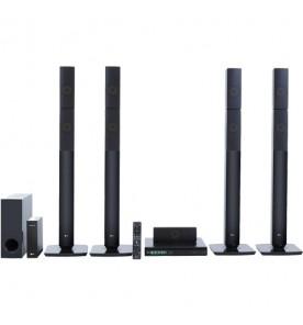 Home Theater LG LHB655NW - Preto - Bluetooth - Wi-Fi - USB - 5.1 Canais - 1000W